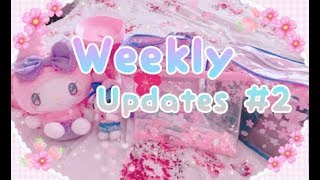 .・゜゜Weekly Updates: Daiso Strawberry Collection, Mini haul, etc~ ゜゜・