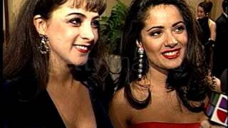 Getty Images Salma Hayek Alma Delfina Golden Globes 1993