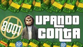 GTA V PC UPANDO CONTA - MOD MENU PC - CONTA DE CLIENTE #3