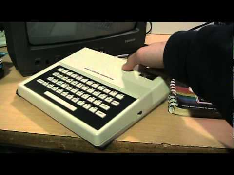 Radio Shack TRS-80 MC-10 Micro Color Computer review