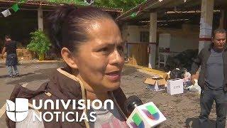 Denuncian que el gobierno estatal retiene la ayuda para Morelos, zona afectada por el terremoto