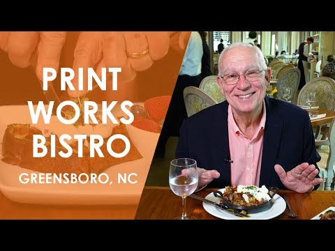 Print Works Bistro In Greensboro | North Carolina Weekend | UNC-TV