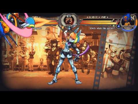 Skullgirls Ft7 Mexico Juice vs Dragonslave [HD 1080p 60fps]