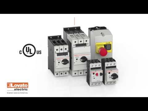 Schema Elettrico Contattore E Salvamotore : Lovato electric interruttori salvamotori magnetotermici serie sm