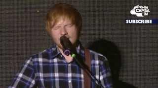 Gambar cover Ed Sheeran - Drunk (Live at the Jingle Bell Ball)
