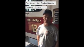AED Brands | Customer Testimonial | Fire District 13 of Guilford County