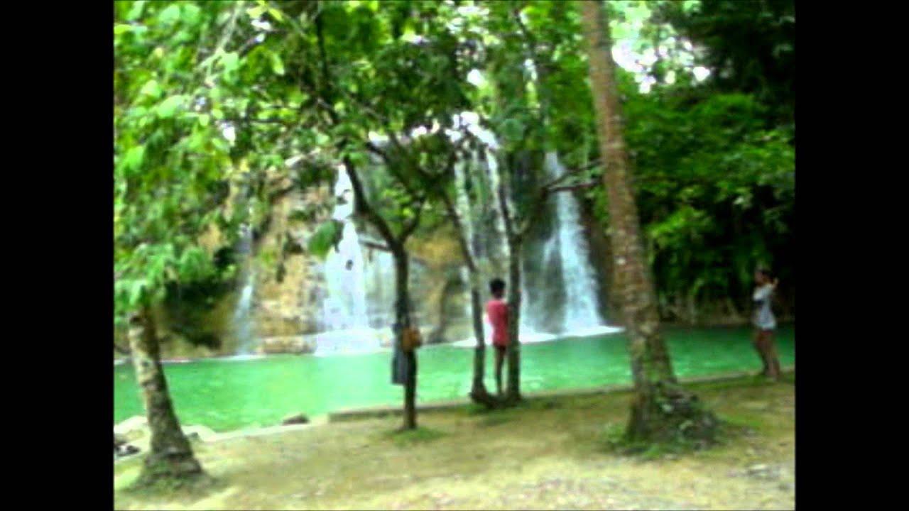 Summer Destination in Leyte - Gunhuban Twin Falls in Bato, Leyte