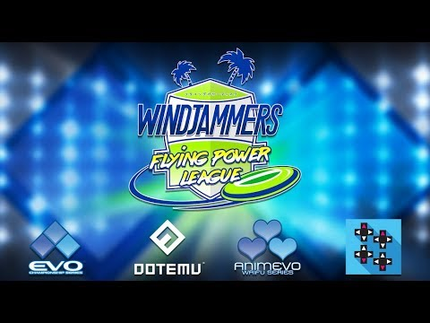 Windjammers Flying Power League at EVO 2018