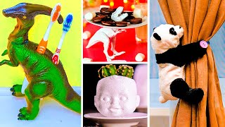 29 MIND BLOWING CRAFTS WITH TOYS | Recycle old plastic to create awesome design!