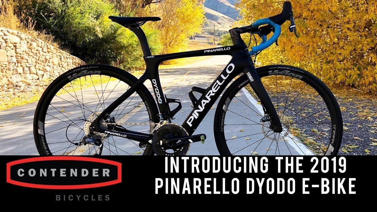 a1fcc2a711e Introducing the 2019 Pinarello Dyodo e-Road Bike - YouTube