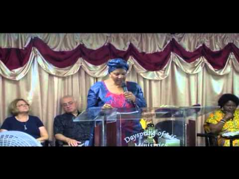 6th Annual Convention   Pastor Rachel Dunn on Deliverance 07 16 15