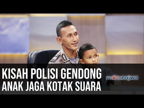 Demi Demokrasi: Kisah Polisi Gendong Anak Jaga Kotak Suara (Part 4) | Mata Najwa