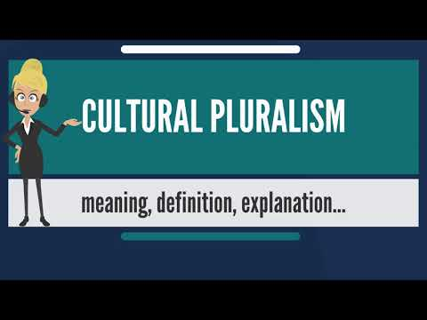 What is CULTURAL PLURALISM? What does CULTURAL PLURALISM mean? CULTURAL PLURALISM meaning