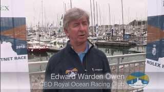 Edward Warden Owen, the CEO of RORC