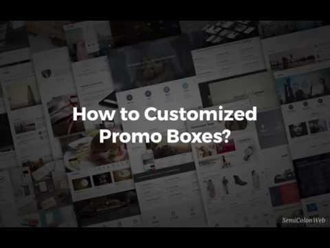 Promo Boxes Setup | Canvas HTML