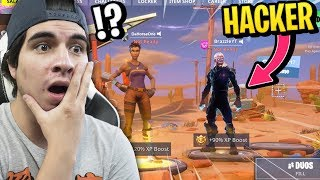 FIND A HACKER WITH ILLEGAL SKIN!! Fortnite and its PROHIBITED Skins!!