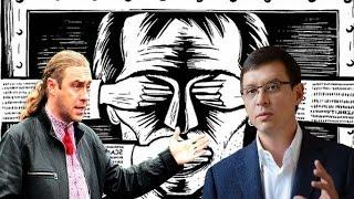 Ярый бандеровец vs Евгений Мураев.Спор о герое Украины Бандере!!!
