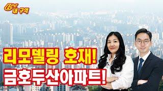 리모델링 호재 있는 서울 저평가 아파트 추천! (성동구…