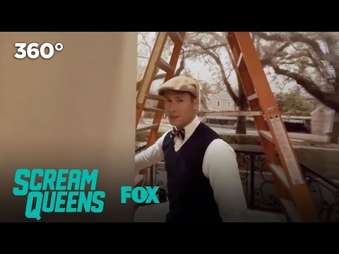 The Kappa House Tour In 360 VR | SCREAM QUEENS
