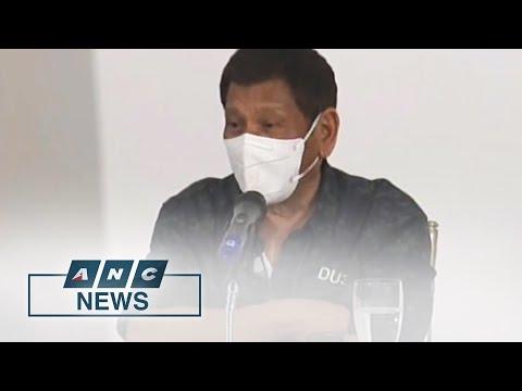 Spokesman: Duterte's sex joke a way of taking break from tragedy   ANC