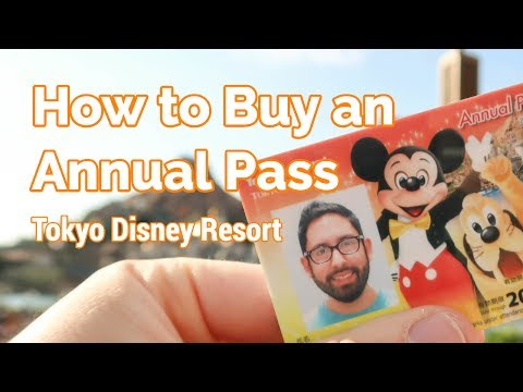 How to Buy or Renew an Annual Pass at Tokyo Disney Resort