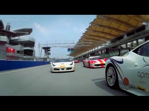 Ferrari Challenge APAC: Wyatt and Tjiptobiantoro