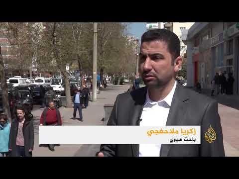 نزوح واعتقالات بالغوطة على وقع قصف بالغازات  - 18:22-2018 / 3 / 19