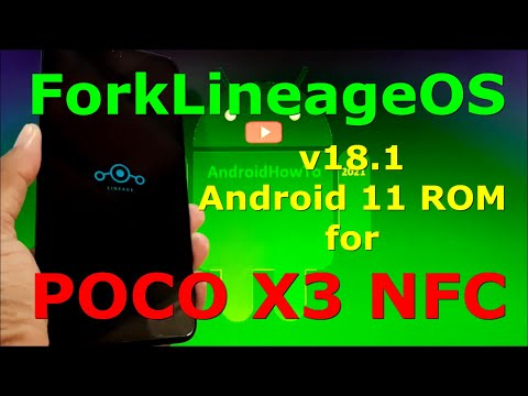 ForkLineageOS 18.1 for Poco X3 NFC ( Surya ) Android 11