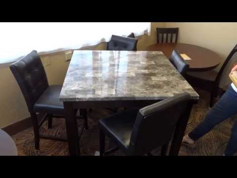 Ashley Furniture Maysville Dining Table Set D154 Review