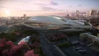 Tokyo 2020 Olympic Stadium By Zaha Hadid