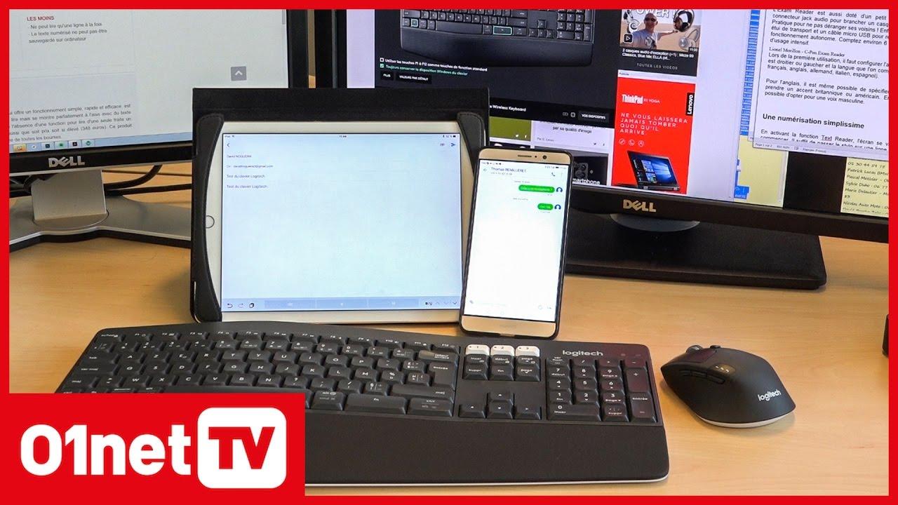 u peut brancher une souris à l'iPad
