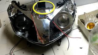 Vario 110 techno projector + luxeon 10w 1100mcd
