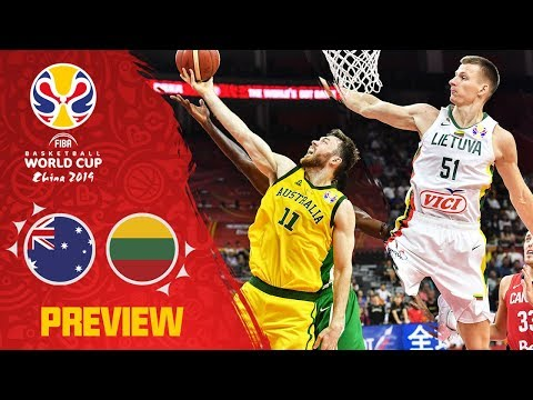 Lithuania v Australia Preview | Best Plays of each team so far