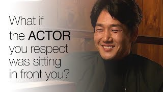 What if the actor you respect was sitting in front of you? ENG SUB • dingo kdrama