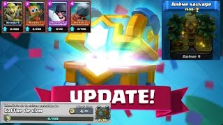 Clash Royale - Update + Free pack opening sans legendaire 😭😭😭 !!!