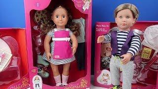 Oyuncak Bebeğimiz ile Tanışıyoruz !! Our Generation Isa doll Bidünya Oyuncak