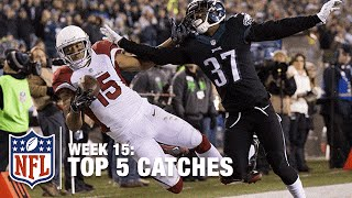 Top 5 Catches (Week 15) Mike Evans, Michael Floyd & MORE! | NFL