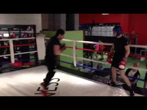 Спаринг. МС по боксу vs...