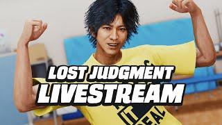 Lost Judgment Early Access Livestream (Spoiler-Free)