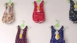 Newest Newborn Baby Kids Tassel Floral Jumpsuits