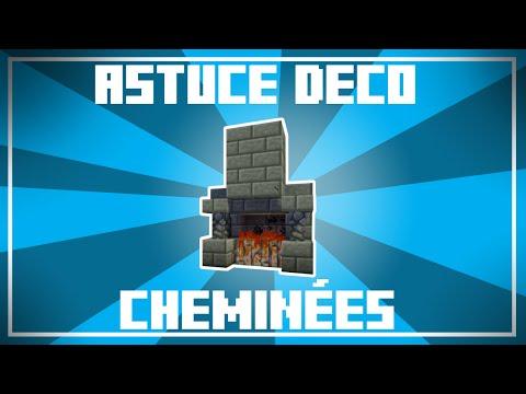 Astuce Déco - 10 Designs De CHEMINÉES Dans Minecraft !