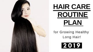 My Hair Care Routine Plan For Growing Long Hair Fast 2019-Hair Growth Challenge Ep.3-Beautyklove