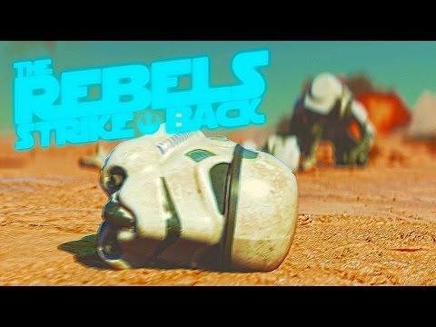 The Rebels Strike Back - Star Wars cgi / vfx shot