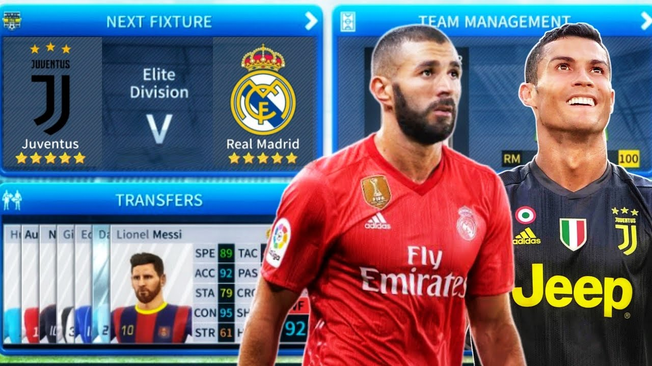 buy online eb3b5 5b4aa JUVENTUS FC 🆚 REAL MADRID ⚽ Dream League Soccer 2019 Gameplay Full HD  Highlights