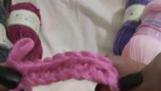 Βασικές πλέξεις για βελονάκι - Αλυσίδα και άριχτο γαϊτανάκι