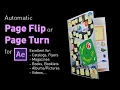 Page Flip / Page Turn Template for After Effects