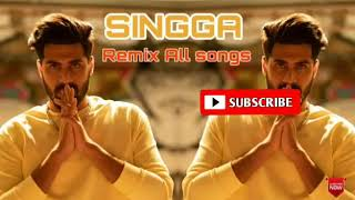 SINGGA - All song remix  &_Bass_Booster|Singga songs Mashup | New Punjabi Song 2019