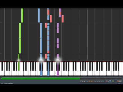 Avenged Sevenfold - Save Me Synthesia Piano