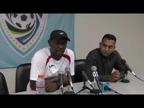 Post Match Press Conference with Russell Latapy after CFU Qualifier with Jamaica