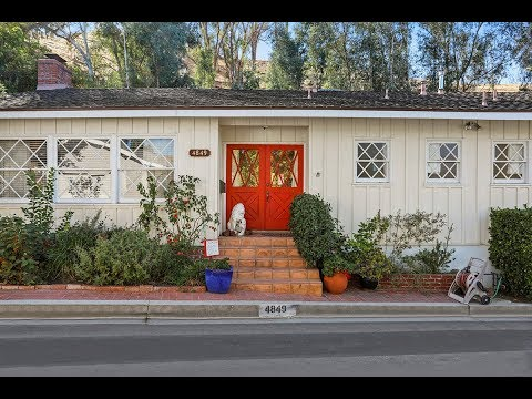 CHARMING HOME FOR LEASE: 4849 REGALO ROAD, WOODLAND HILLS, CA